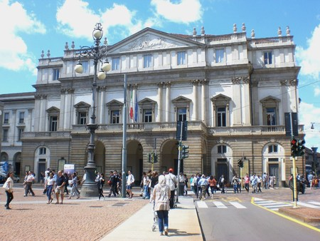 Teatro alla Scala in Milan, Italy. August 16, 2014.