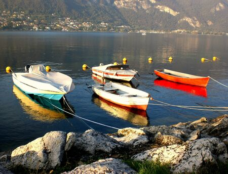 Lake Iseo, traditional boats