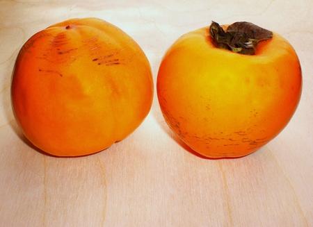 Natural fruits, persimmons