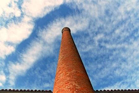 Ancient chimney Archivio Fotografico