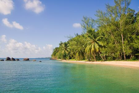 Tropical landscape from Sainte Marie Island, Madagascar Stock Photo - 6938038