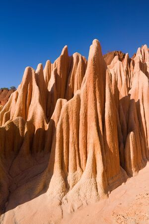 Red tsingy of Diego Suarez, Madagascar photo