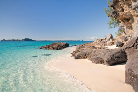 Pictorial scene of Tsarabanjina island, Madagascar photo