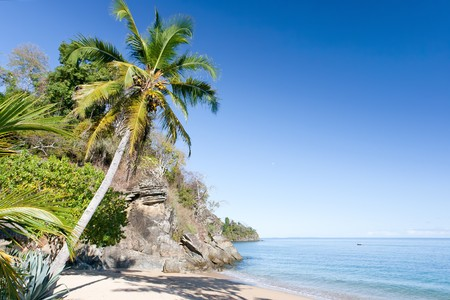 be: Tropical beach landscape from Nosy Be, Madagascar