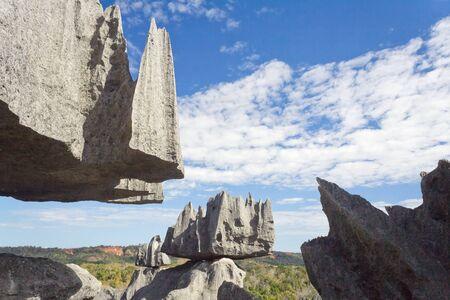 Tsingy de Bemaraha, Parc national de Madagascar, l'Unesco patrimoine mondial