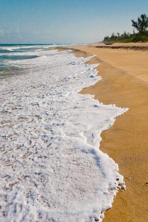 east coast: Malagasy beach eastern on the Indian Ocean Stock Photo