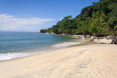 Coastal landscape of the Antongil Bay, east of Madagascar photo