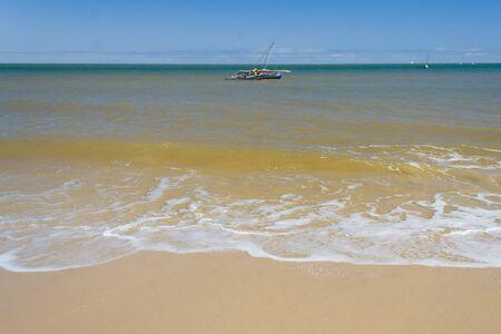 dugout: Sakalava Dugout in Mahajanga (Majunga), Madagascar