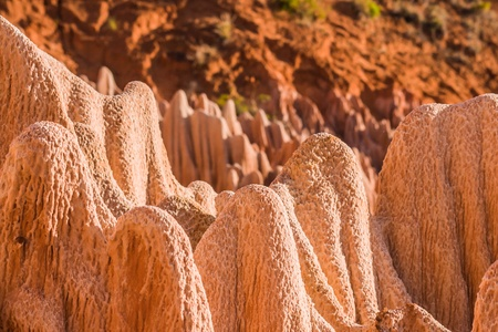 The  Red tsingy of Antsiranana (Diego Suarez), Madagascar Stock Photo - 12902174