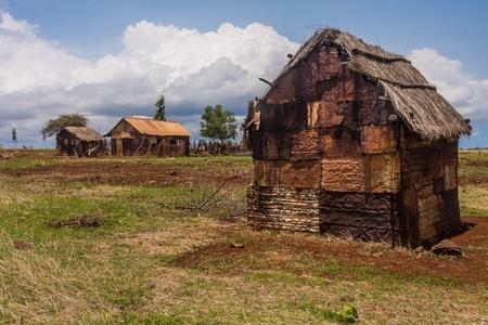 northern african: Antakarana village near Antsiranana, north of Madagascar