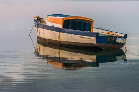 Traditional fishing boat in the Antsiranana bay (Diego Suarez), north of Madagascar photo