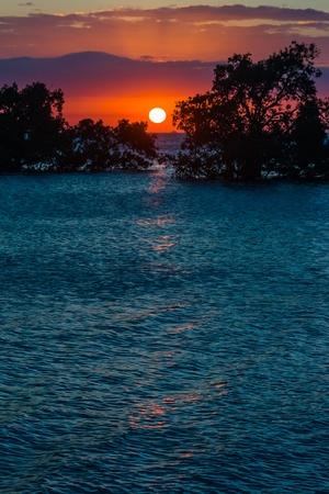 Sunset on the Antsiranana bay (Diego Suarez) northern Madagascar Stock Photo - 12902393