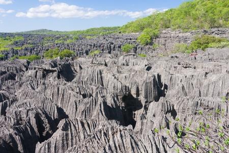"""""""La mer de Tsingy"""", le parc national d'Ankarana, le nord de Madagascar"""