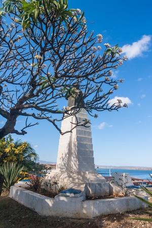 The statue of Marechal Joffre in Diego Suarez (Anrsiranana), north of Madagascar photo