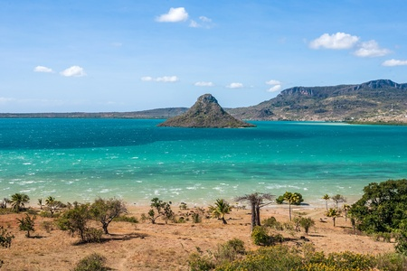 The sugarloaf of Antsiranana bay (Diego Suarez), northern Madagascar Banque d'images