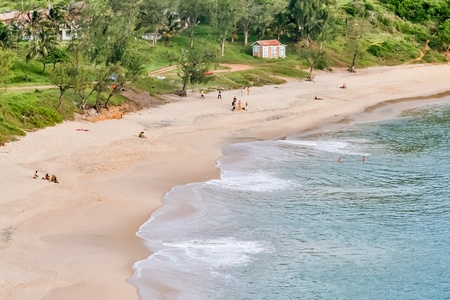 fort dauphin: The Libanona beach of Fort Dauphin (Tolagnaro), southern Madagascar