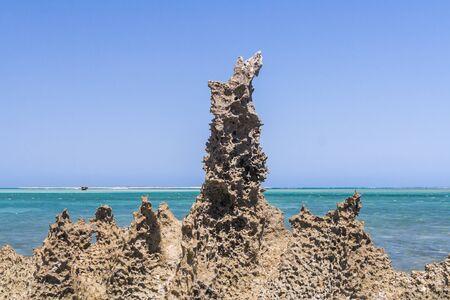 Seascape on the lagoon of Andavadoaka, southwestern Madagascar Stock Photo - 13345616