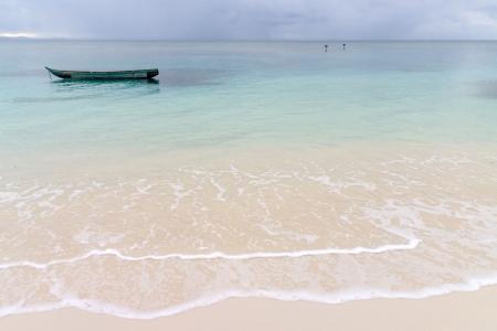Seascape of Sainte Marie Island (Nosy Boraha), Madagascar Stock Photo - 14667473
