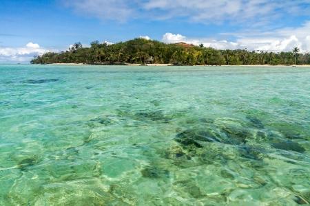 Seascape of Sainte Marie Island (Nosy Boraha), Madagascar Stock Photo - 14667519