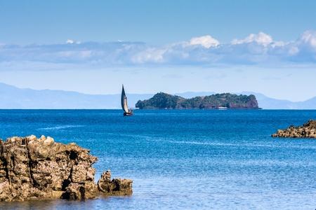 Seascape near Nosy Be island, northern Madagascar Stock Photo