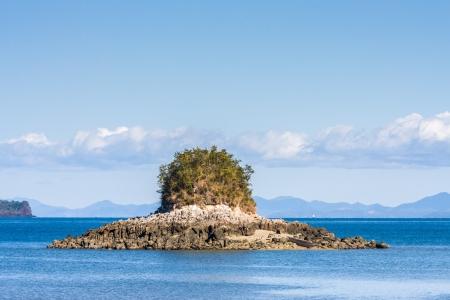 Rocky island near Nosy Be, northern Madagascar