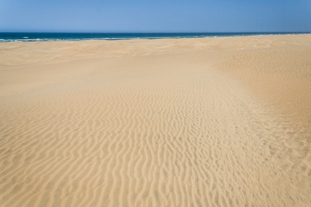 anosy: Sand dunes and ocean in southern Madagascar