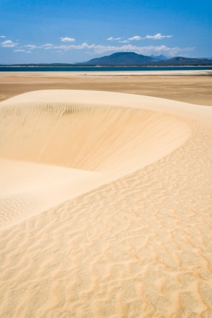 fort dauphin: Sand dunes near the Anony lake, southern Madagascar