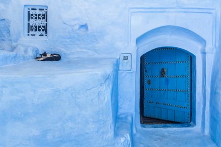 The blue medina of Chefchaouen, Morocco
