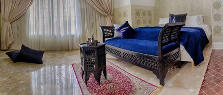 suite: Beautiful moroccan room suite in arabic style