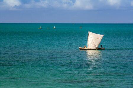 Vezo boatmen to Salary in western Madagascar on october 2016, 25