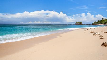 Tropical beach to Nosy Fanihy (Nosy Be), Madagascar