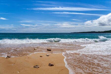 Wild beach in Nosy Be, Madagascar