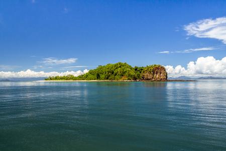 Nosy Tanikely island, marine protected area of Nosy Be, Madagascar