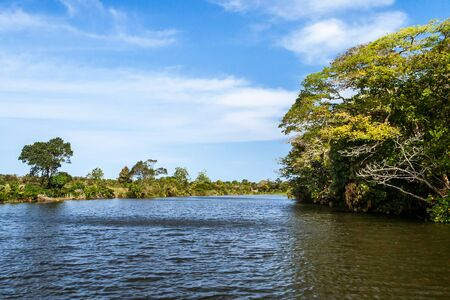 Landscape of the Pangalanes canal, eastern Madagascar