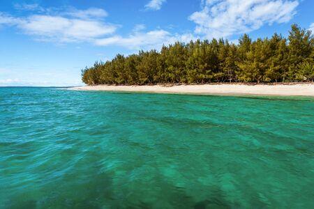 Beautiful beach of the tropical island
