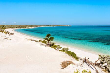 The Ambatomilo lagoon in south-western Madagascar
