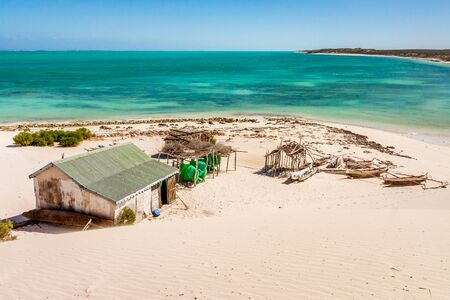 Tsiandamba, Vezo fishing village in Western Madagascar Editorial