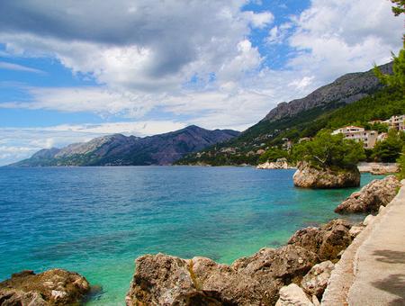 Glimpse of the Croatian sea