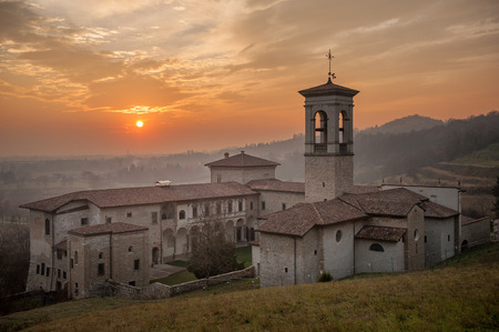 Church of the Holy Sepulcher - Monastery of Astino-Bergamo