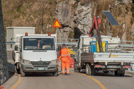 road work Editorial
