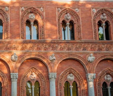 Milan Italy: state universities Reklamní fotografie