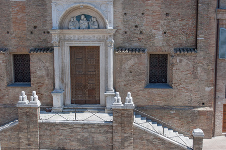 Ancient church steps
