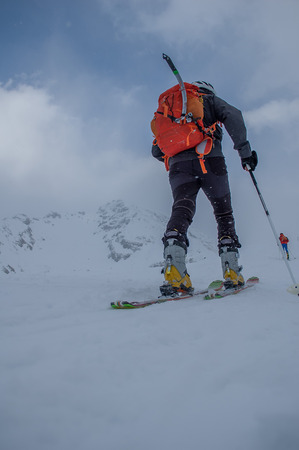 Ski mountaineer to conquer the summit