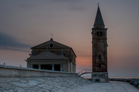 The sanctuary of the Madonna dell'Angelo is a church in Caorle, rebuilt in its current form in the eighteenth century on the shore of the Adriatic Sea.