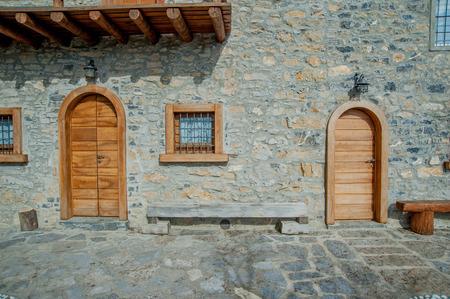 closure of old door