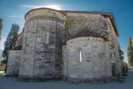 basilica di Santa Giulia di Bonate Sotto Bergamo Archivio Fotografico