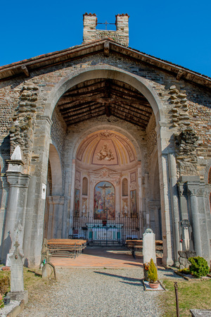 basilica of Santa Giulia of Bonate Sotto Bergamo