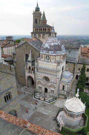 Basilica of Santa Maria Maggiore in Bergamo Archivio Fotografico