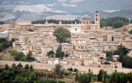 duke: view of urbino