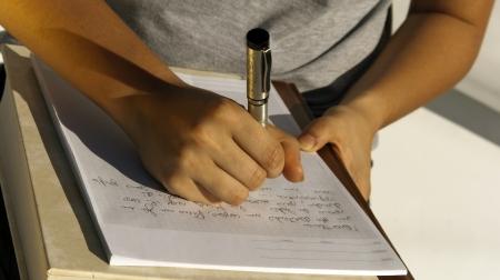 schreiben: Hinweise
